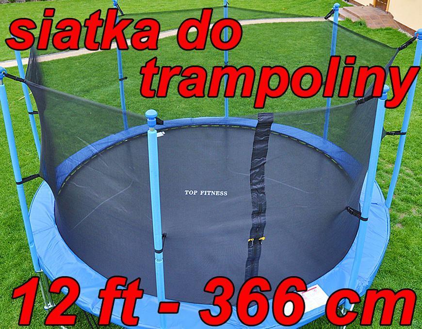 siatka wewn trzna do trampoliny 12 ft 366 cm trampolina 6 s upk w sklep internetowy lazur. Black Bedroom Furniture Sets. Home Design Ideas