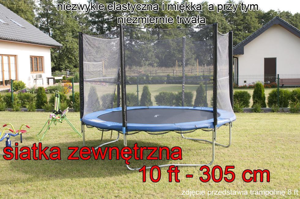 siatka zewn trzna do trampoliny 10 ft 305 cm trampolina 6 s upk w sklep internetowy lazur. Black Bedroom Furniture Sets. Home Design Ideas